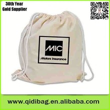 2014 drawstring cotton calico dust bag