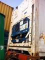 Contenedores 45'ft utiliza contenedores del buque