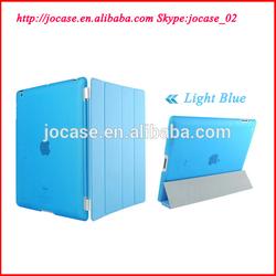 Blue PU leather case for ipad mini Retina shell protect cover