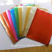 multi-functional metalic luster aluminum plating film composite paper