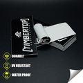 0.12mm a prueba de agua de vinilo coche emblemas