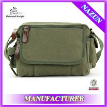 Made in china high quality green laptop shoulder bag for men