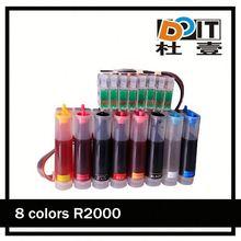 Have pigment ink bulk ink system for Epson R2000