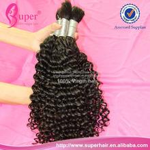 100 human braiding hair no weft,jazz wave afro braiding hair,quality hair textures