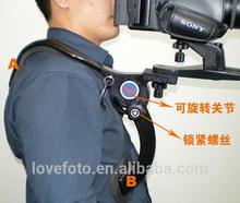 Professional adjusted Hand Free Camera Shoulder Mount Support for SLR,DSLR,DV