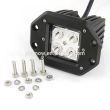 16W LED Work Light Lamp Driving Dually Fog Light Off Road 4x4 Truck Motorcycle Bike Spot Beam