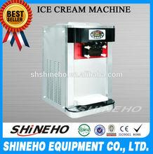 S001 Kitchen Appliance Three Flavors Professional Ice Cream Maker Machine