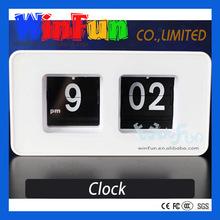 AM PM Clock Antique Desk Clock Flip Clock
