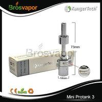 Promotion!!! Newest 100% Genuine Kanger Mini Protank 3 atomizer dual coil atomizer wholesale Mini Protank 3 Kanger