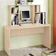 wooden modern compact computer desk