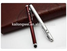 2014 Lastest pen light bulb pen stylus laser pen