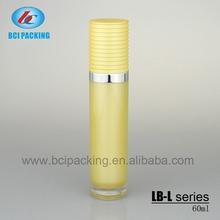 LB-L60 60ml acrylic cosmetics packing bottles