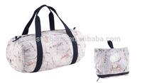 Soft Foldable Nylon Custom Gym Bag