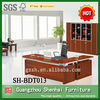 office furniture cherry wood L shape executive office desks