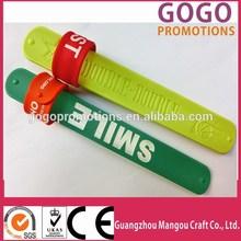 Cheap silicone slap bracelet,silicon magnetic slap bracelet fashion