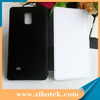 Newest Flip leather cases sublimation for Samsung Note 4 for 2D heat transfer printing