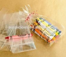 Water resist square bottom bopp bag sweets plastic bag