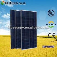 BlueSun hot sale in EU 300w poly-si solar panels