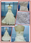 2014 Newest cathedral train wedding ball gowns