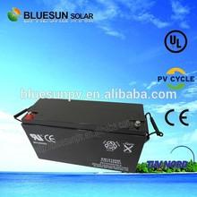 Bluesun deep cycle 150ah 12 volt dry charged lead acid battery