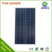 High efficiency 190 watt Poly crystal silicon solar panel wholesale