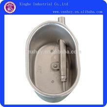 animal bol en acier inoxydable bac à eau potable
