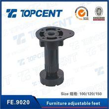 Plastic kitchen adjustable leg,leveling foot,adjustable furniture feet