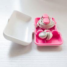 Boomray 2014 Newest Item Cable winder Earbud Case Phone accessories earbud case mini bluetooth speaker speaker headset
