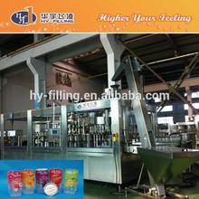 HY-Filling fresh fruit juice processing line in Zhangjiagang city