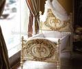 Royal luxo berço de madeira, estilo europeu de bebê recém-nascido cama, mão esculpida bebê berço do bebê rede- bf07-70223