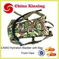 Barato camuflagem militar hidratação água bexiga backpack