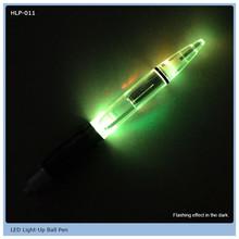 sophisticated plastic light ball pen