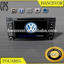 HANOSVOR Factory Directly 2 Din Touch Screen Car DVD Navigation for VW TOUAREG