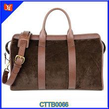 Elegant Fashion Women Top Grade Classy Sheepskin Travel Bag