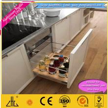 ประเทศจีนoppeinตู้ครัวที่กำหนดเองประเภทและรูปแบบที่ทันสมัย, สีสูงที่ต้องการส่งออกอลูมิเนียมประตูตู้ห้องครัว