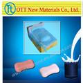 Rtv-2 de silicona de caucho para la vela& jabón del molde