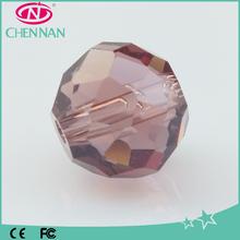 Yiwu Fashion Wholesale 8mm Round Crystal Glass Beads