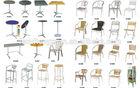 Wholesale rattan wicker waiting chairs,cheap plastic chair