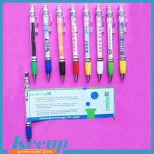 Best Selling promotional metal clip banner pen