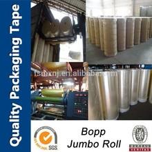 OEM high quality bopp acrylic tape jumbo roll