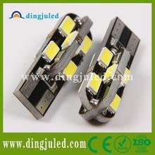 Free samples t10 canbus 5630 12smd led light 12v car