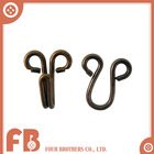 Metal garments accessories and trims metal hooks for bra