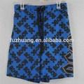 Ropa interior beach boys corto traje de baño de ca/cc azul/negro