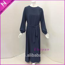 newest muslim abaya arab kaftan with belt