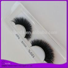 Fluffy long mink hair eyelash soft mink hair super thick eyelash