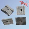 Grooved/corrugado de cemento molino de la placa de revestimiento