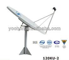 Ku band 120cm Dish Antenna Satellite TV