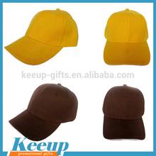 Wholesale Cotton Plain Dyed Baseball Cap