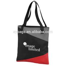 mixed color shopping bag / hot design shopping tote / stylish shoppping tote bag