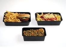 pp plastic disposable cooked food packaging